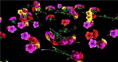 -玫瑰D32910绚丽玫瑰花