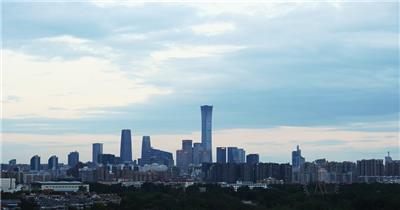 北京CBD城市延时