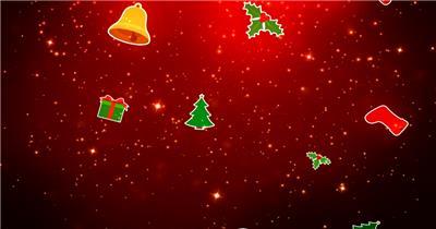 圣诞节 (3) 圣诞节动态视频节日庆典视频 庆祝视频节日视频 节日庆典