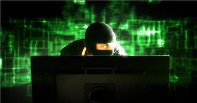 和电脑有关的素材.    ' Hacker02 视频素材下载