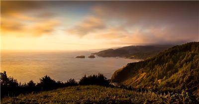 海边山崖风景  海边山崖HouseRock 视频素材下载