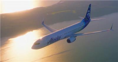 飞机多角度视频