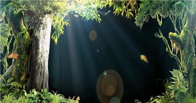 梦幻童话森林 款A00117梦幻童话森林无音乐