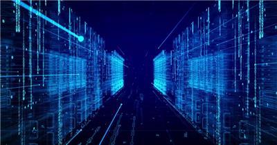 动态科技背景4(阿铺) 虚拟高科技背景视频素材