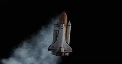 航天飞机 Shuttle001 视频素材下载