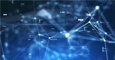 动态科技背景2(阿铺) 虚拟高科技背景视频素材