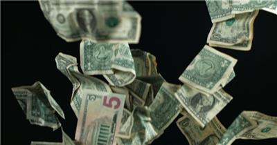 掉钱 Falling Money 高清视频全集_batchStoc Video高清视频素材下载 led视频背景 led下载