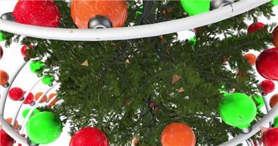 ED圣诞树祝福 EDIUS模板 圣诞节 EDIUS素材 节日模版