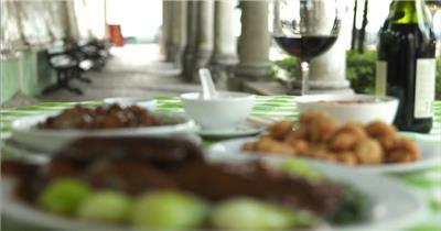 饭店酒楼吃饭聚餐美食火锅高清视频素材餐饮厨师食物厨房美食24