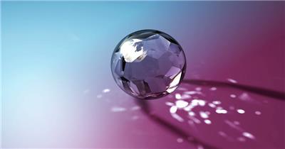 魔法玻璃球  AGICGLOBEREDBLUE 视频素材下载