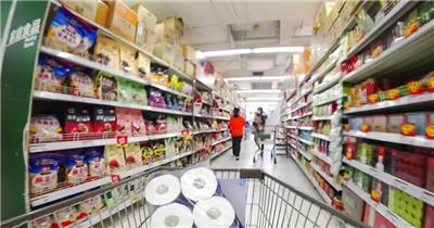 超市购物第一视角