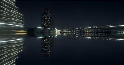 日本东京城市风光延时摄影