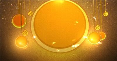 星星月亮 款A20002超酷金色星星无音乐_batch led视频背景下载