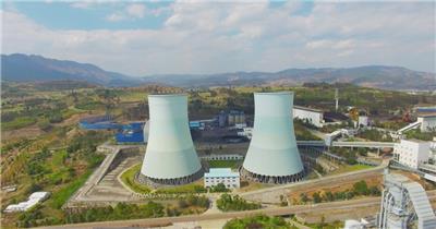 环保火电厂发电设备全景