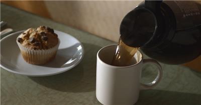喝咖啡001027VTXHD中国实拍视频素材 视频下载中国实拍
