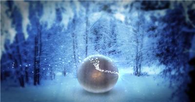 ED圣诞节主题的粒子光束 EDIUS模板 圣诞节 EDIUS素材 节日模版