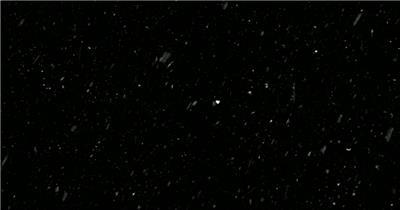 梦幻的动态下雪snowloop3 视频素材下载