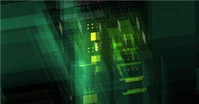 13796 三维科技感等距Logo动画 ae模板大全下载高科技互联网未来ae源文件