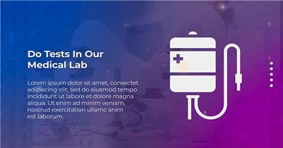 13960 医生医疗介绍宣传包装片头ae免费模板素材 ae素材