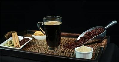 农场咖啡种植收获挑拣加工制作冲泡咖啡豆宣传片高清视频实拍