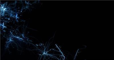 动态科技背景14(阿铺) 虚拟高科技背景视频素材