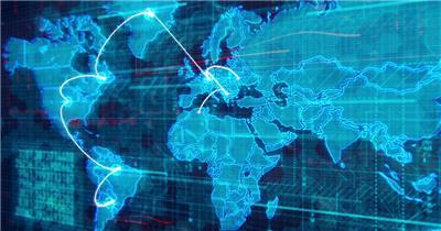 世界地图素材  Worldap2 视频素材下载