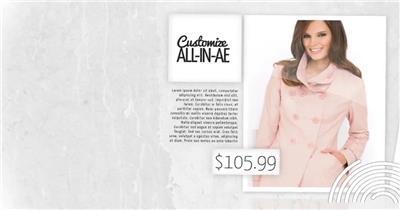 AE:3服装促销展示AE素材模板18