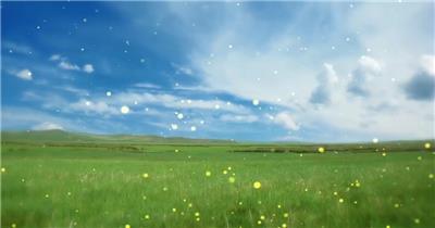 -草原蒙古包款D2378草原蒙古包雪山夕阳民族舞蹈晚会_batch led视频背景下载