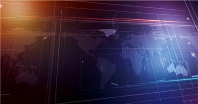 世界地图背景循环素材  GlobalSpanHD 视频素材下载