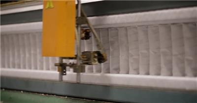 床上用品床垫制造生产加工全过程展现企业专业形象宣传高清视频实拍