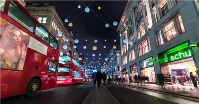 美丽的城市夜景高清摄影