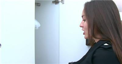 现代化极简建筑酒店低碳生活室内设施介绍宣传高清视频实拍