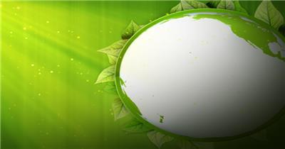 公益环保类的背景循环素材  GreenPlanetSD 视频素材下载