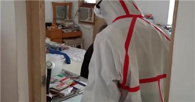 武汉救护车急诊冠状病毒人员