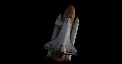 航天飞机 Shuttle002 视频素材下载