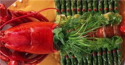 美食海鲜大餐广告片美食餐厅宣传片食物酒店用餐