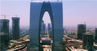商务东方之门实拍视频