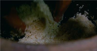 实拍南方重庆江西酿黄米酒实拍视频素材