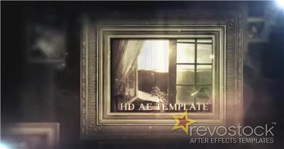 AE:史诗风格图片展示模板 ae特效素材14 大气 电影特效ae素材