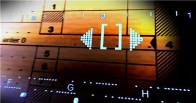 企业时间金融款企业时间金融12 led视频素材库