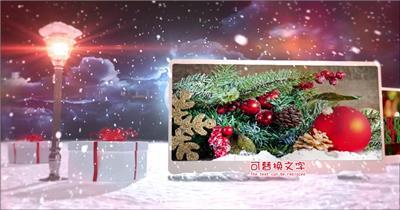 ED快乐圣诞 EDIUS模板 圣诞节 EDIUS素材 节日模版
