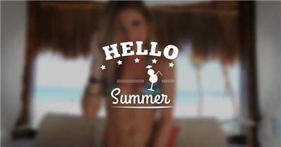 AE:夏天假日宣传片 AE模板文件16