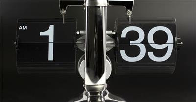 动感时钟定时器运动数字牌跳动倒计时高清视频实拍
