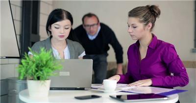 公司企业商务办公讨论方案分析谈论组工作会议高清视频实拍