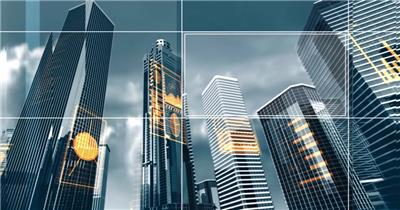 城市建筑数据分析高楼植入广告房地产公司广告