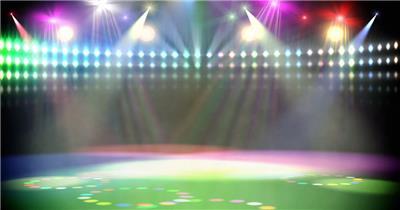 L1653舞台灯光秀聚光灯射灯酒吧娱乐夜场素材 酒吧视频 dj舞曲 夜店视频