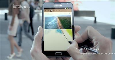 Samsung Galaxy Note平板电脑广告创意篇.1080p 欧美高清广告视频