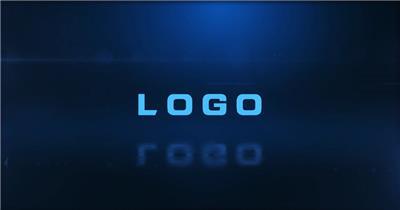 能量冲击LOGO演绎AE模板