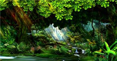 梦幻童话森林 款A0012梦幻童话森林无音乐