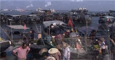 湛江+硇洲岛+渔港渔船+渔民打鱼虾+海.司宣传片 企业宣传片_batch 视频下载实拍广告宣传片